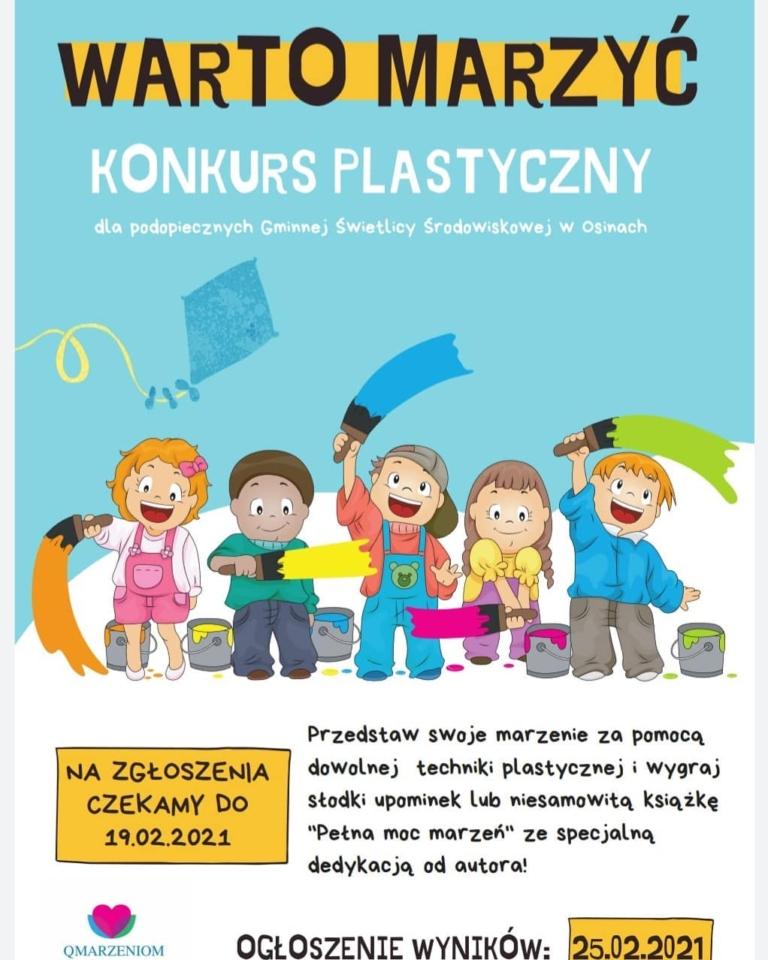 Konkurs plastyczny Warto Marzyć